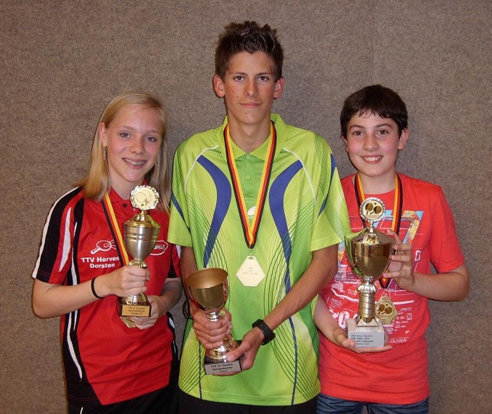 Vereinsmeisterschaften Jugend 2012