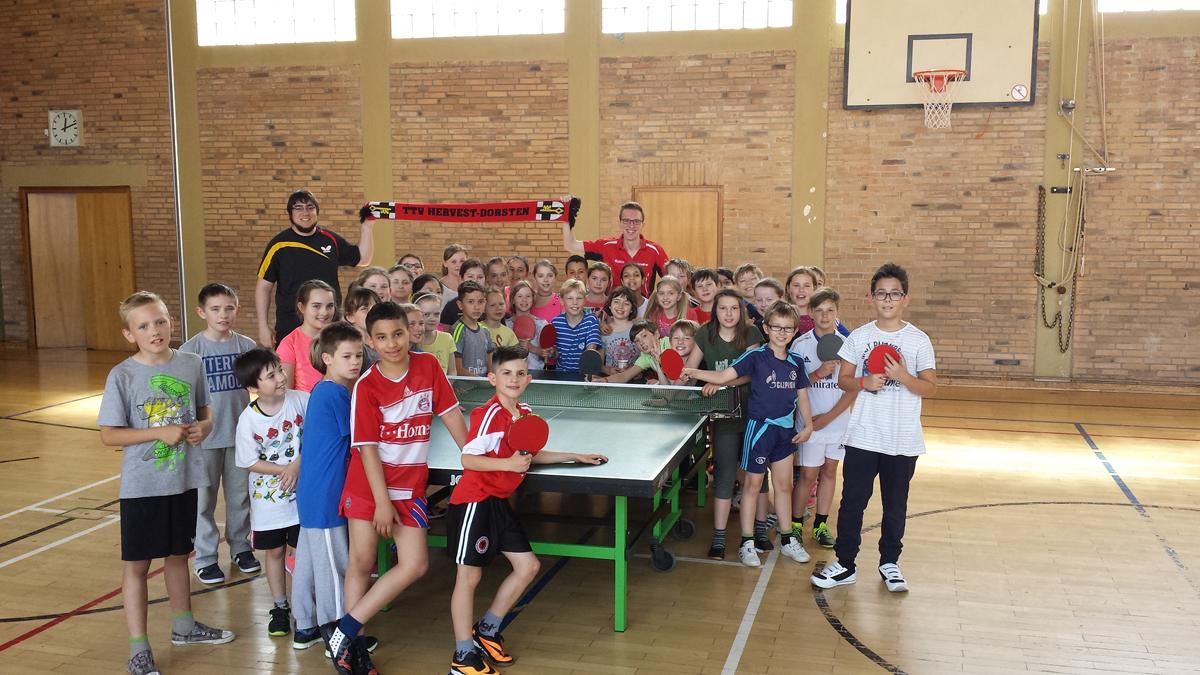 Tischtenniswoche 2016